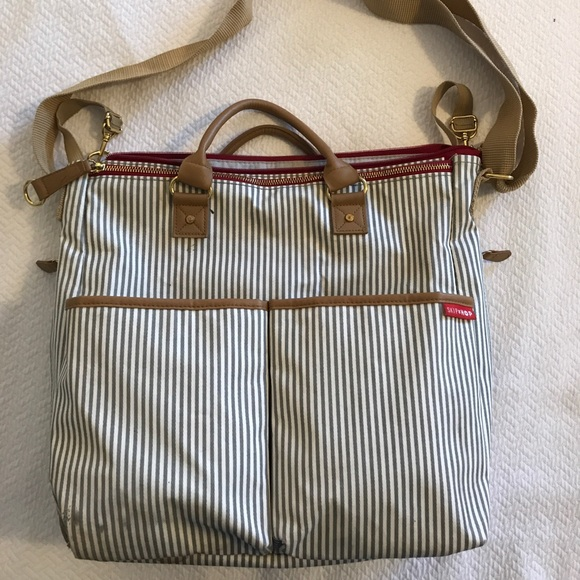 Skip Hop Other - Skip Hop Special Edition French Stripe Diaper Bag